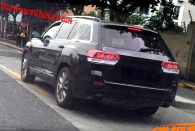Spy Shots: New Volkswagen SUV Testing In China