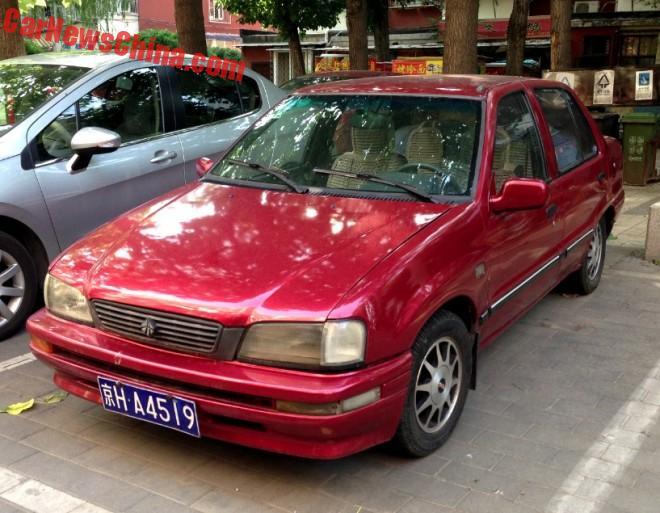 Spotted In China: Tianjin Xiali TJ7131UL