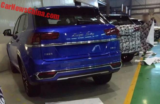 Spy Shots: Zotye Damai X7 SUV For China