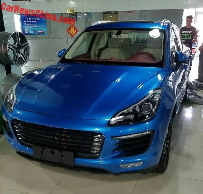 New Photos Of The Zotye SR8 Porsche Macan Clone In China