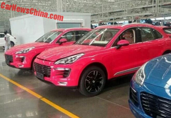 What About The Zotye SR8 Porsche Macan Clone In Pink?