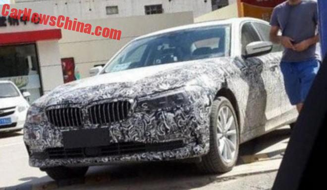 Spy Shots: 2017 BMW 5-Series Testing In China