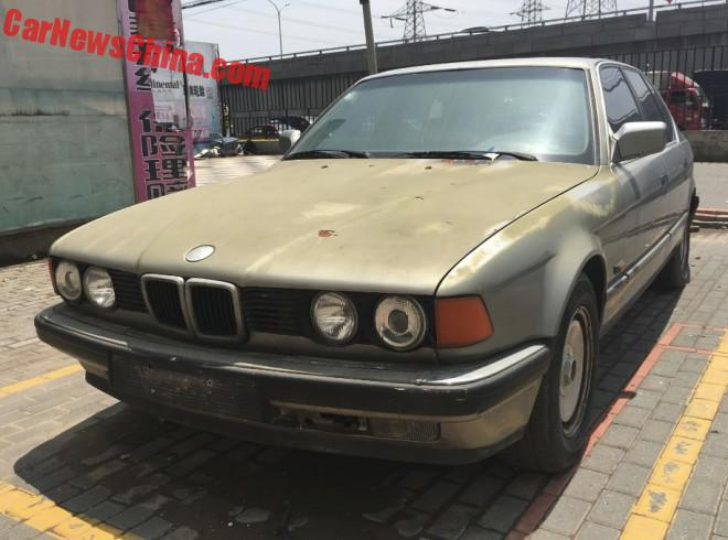 Spotted In China: E32 BMW 735i