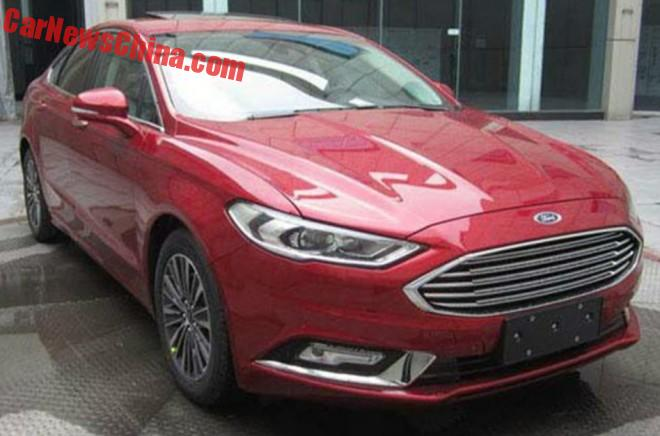 Spy Shots: Facelifted Ford Mondeo Is Ready For China