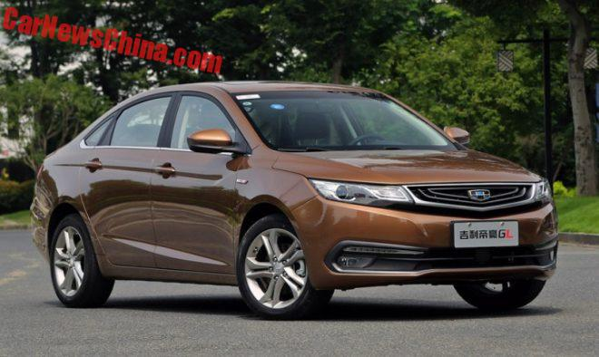 From All Sides: The Geely Emgrand GL Sedan For China