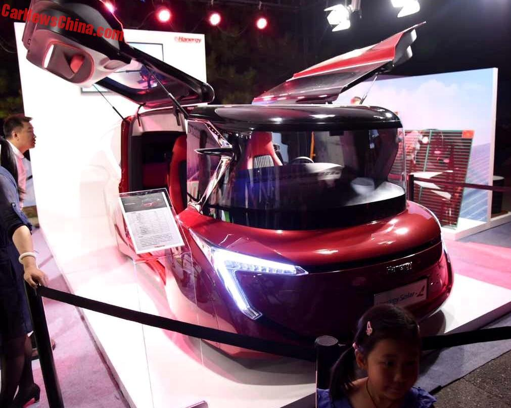 Hanergy Uveils 4 Solar Powered Cars In China Panel Car Ford 3