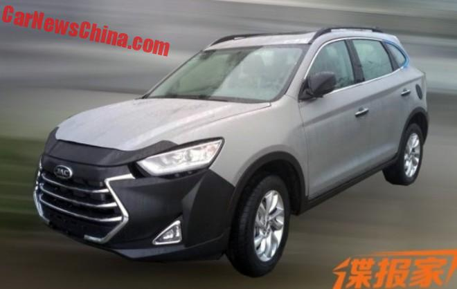 Spy Shots: JAC Refine S7 SUV For China