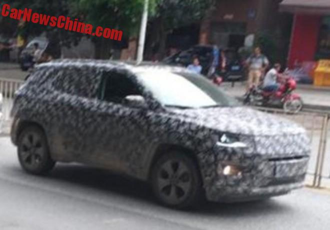 Spy Shots: New Jeep Compass Testing In China