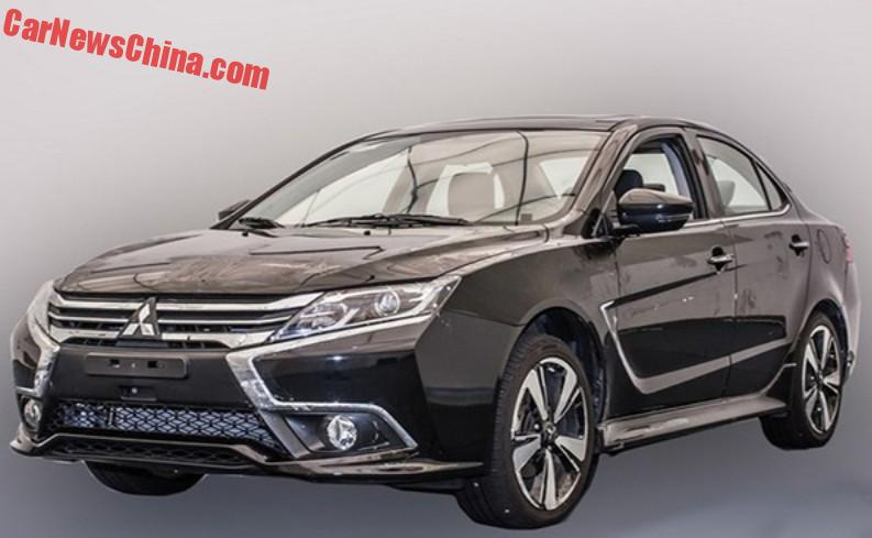 Spy Shots This Is The New Mitsubishi Lancer Ex For China