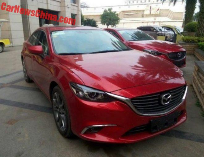 New Photos Of The Facelifted Mazda 6 Atenza In China