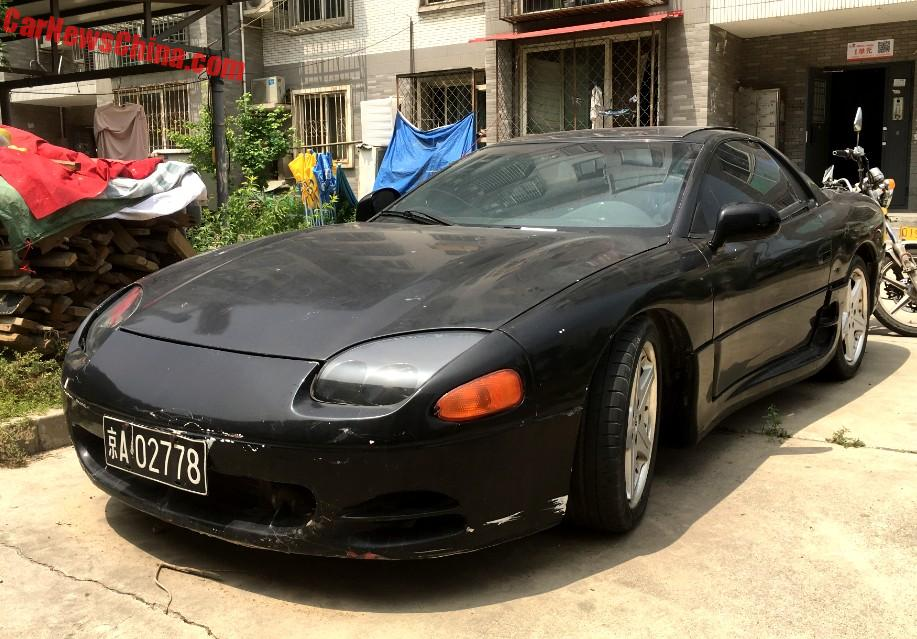 Spotted In China Mitsubishi 3000gt Black Red Really