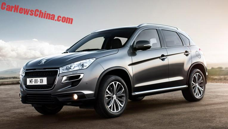 this is the new peugeot 4008 for china. Black Bedroom Furniture Sets. Home Design Ideas