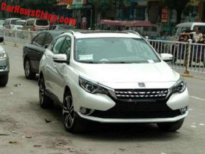 Spy Shots: Venucia T90 Is Almost Ready For China