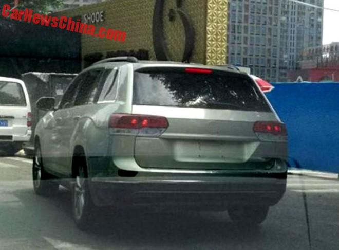 Spy Shots: Volkswagen Crossblue Seen Testing In China