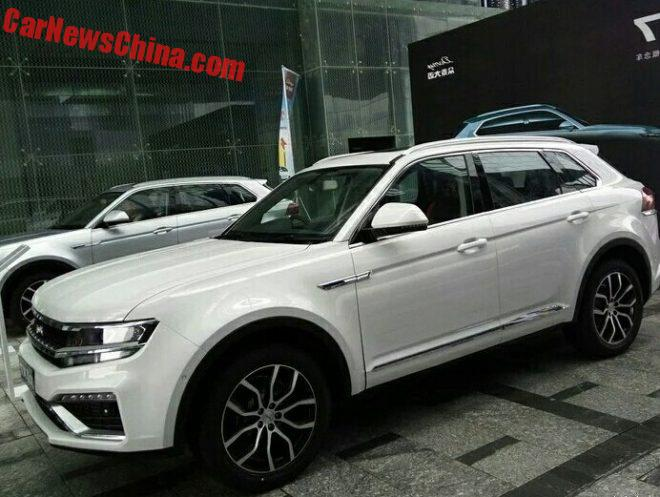A Flock Of New Photos Of The Zotye Damai X7 For China