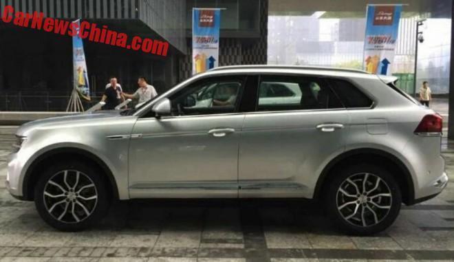 New Photos Of The Zotye Damai X7 SUV For China
