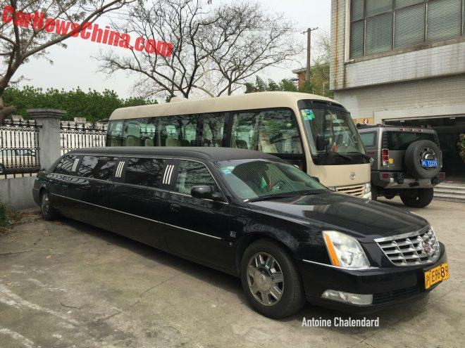 Spotted In China: LCW Automotive Cadillac DTS Stretch Limousine