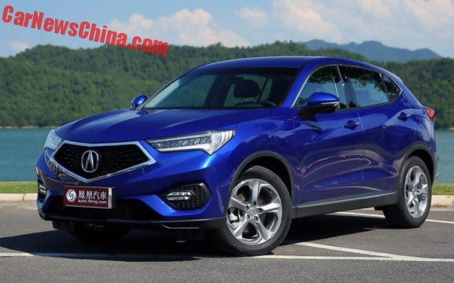 Acura CDX Launched On The Chinese Car Market