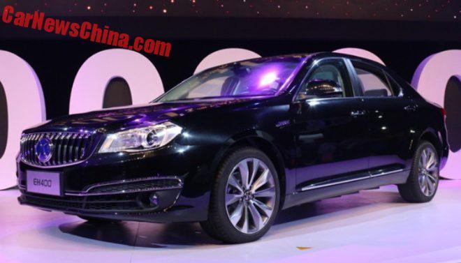 Beijing Auto Launches New EV With 400 Kilometer Range