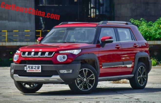 Beijing Auto BJ20 Is Finally Ready For The Chinese Car Market