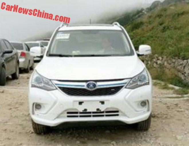 BYD Song EV Is Almost Ready For China