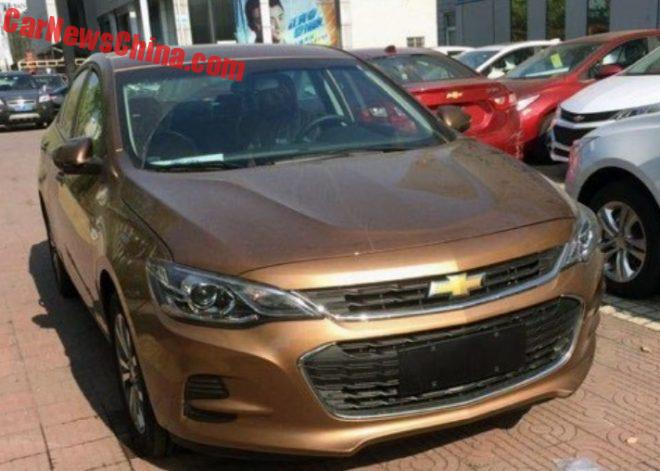 This Is The Chevrolet Cavalier For China