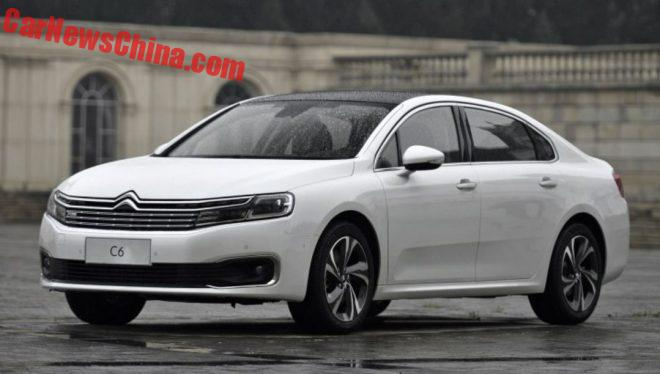 Citroen C6 To Get A 1.6 Turbo In China