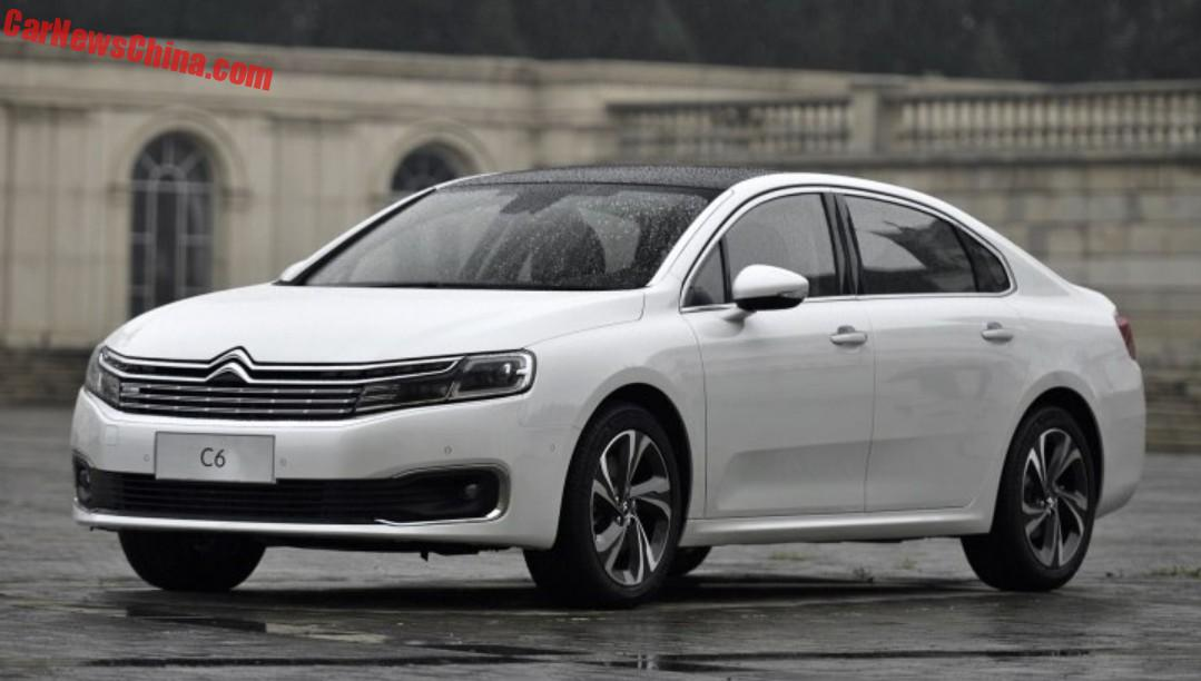 citroen c6 to get a 1 6 turbo in china. Black Bedroom Furniture Sets. Home Design Ideas
