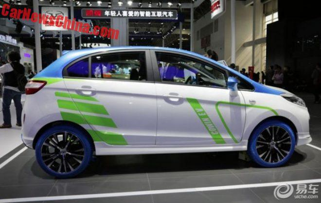 Cowin C3R EV Will Hit The Chinese Car Market In October