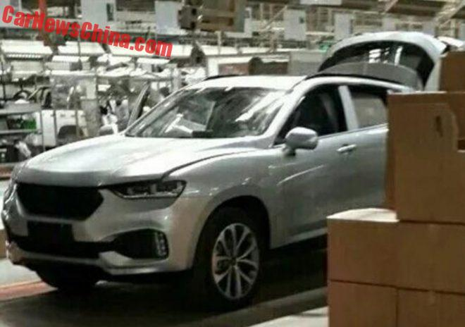 Spy Shots: Haval Coupe Is Getting Ready For China