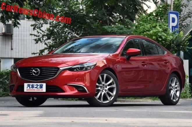 This Is The Facelifted Mazda 6 Atenza For China