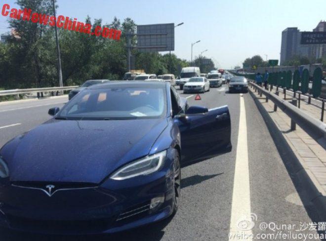 First Tesla Autopilot Crash In China