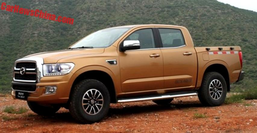 best pickup truck name ever the zhongxing terralord from china rh carnewschina com