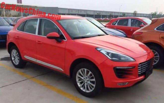 Here Is the Zotye SR8 Porsche Macan Clone In Every Color