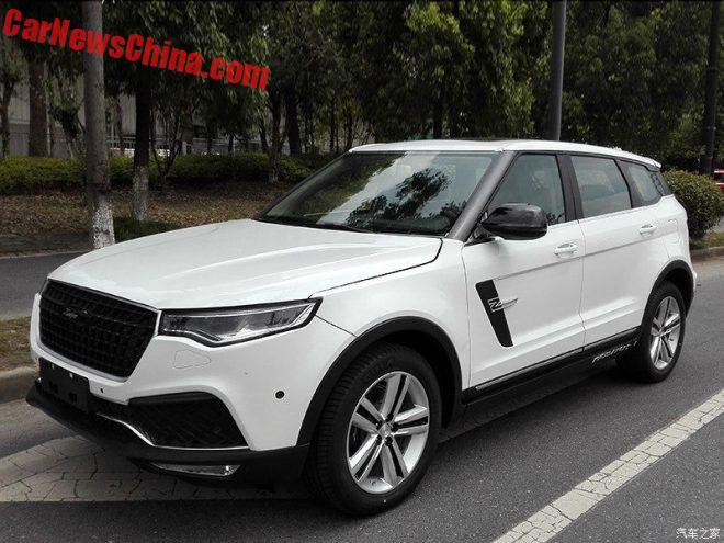This Is The Zotye T700 SUV For China