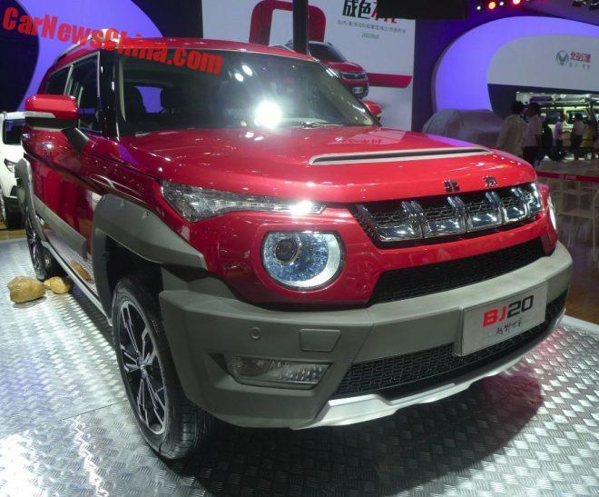 Beijing Auto BJ20 Hits The Chengdu Auto Show In China