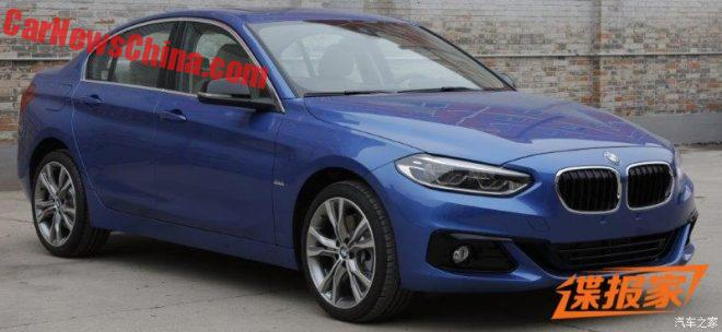 This Is The BMW 1-Series Sedan For China