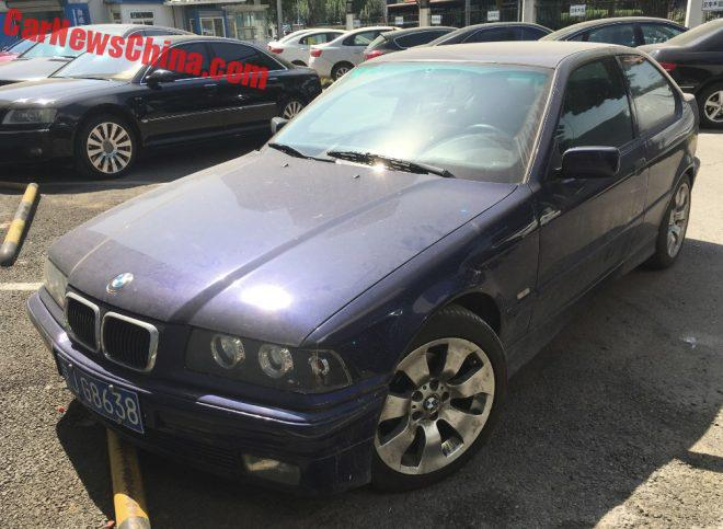 Spotted In China: E36/5 BMW 316i Compact