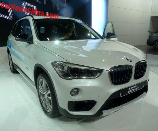 BMW X1 xDrive 25Le Launches On The Chengdu Auto Show In China
