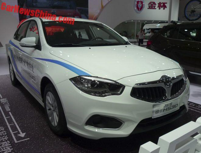 Facelifted Brilliance H530 Launched On The Chengdu Auto Show In China