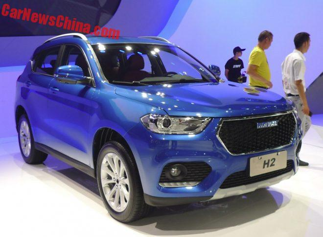 Haval H2 Blue Label Launched On The Chengdu Auto Show In China
