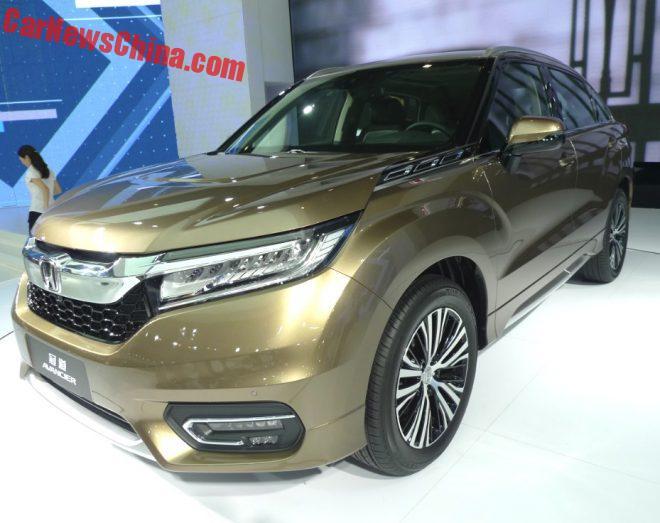 Honda Avancier SUV Debuts On The Chengdu Auto Show In China