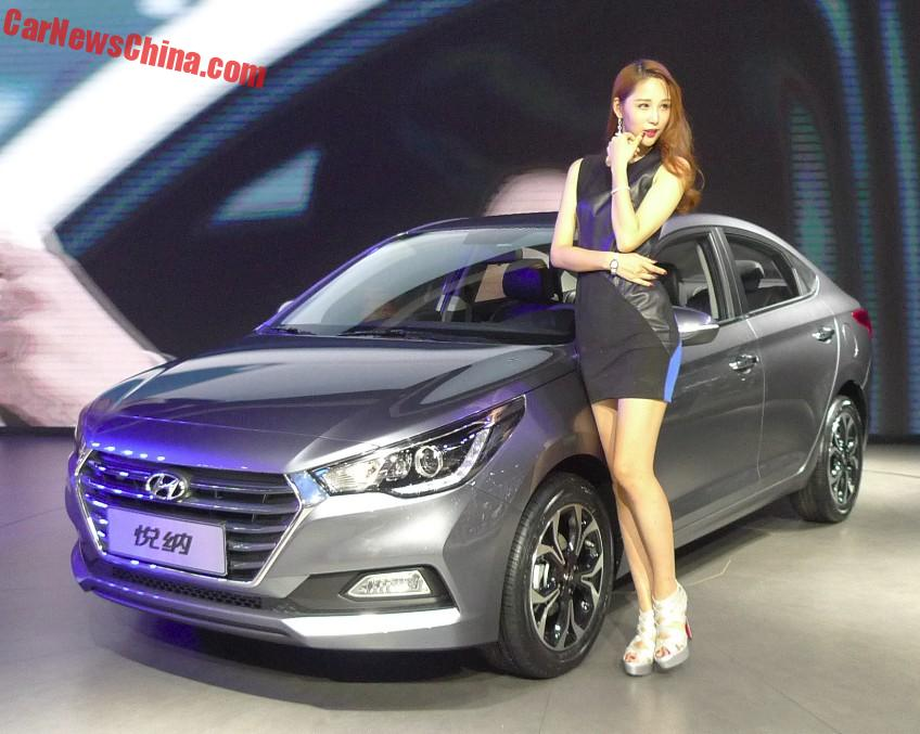 New Hyundai Verna Hits The Chengdu Auto Show In China CarNewsChinacom - Hyundai car show