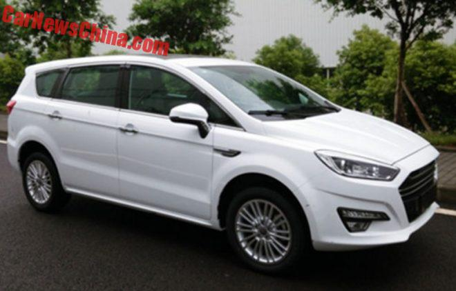 Clone Country: China's Lifan Rips Off The Ford S-Max With New MPV
