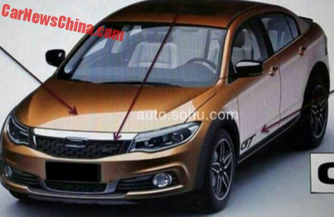 Spy Shots: This Is The Qoros GT Crossover Sedan For China