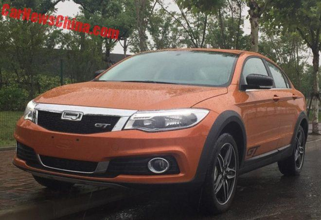 New Photos Of The Qoros GT Crossover Sedan For China