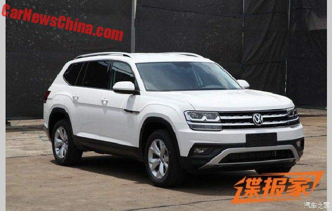 The Volkswagen Teramont Is Ready For China