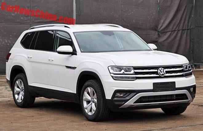 New Photos Of The Volkswagen Teramont SUV