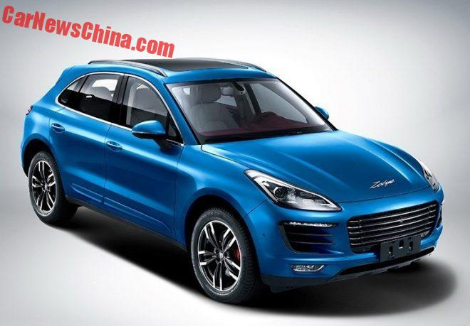 Official Photos Of The Zotye SR8 Porsche Macan Clone From China