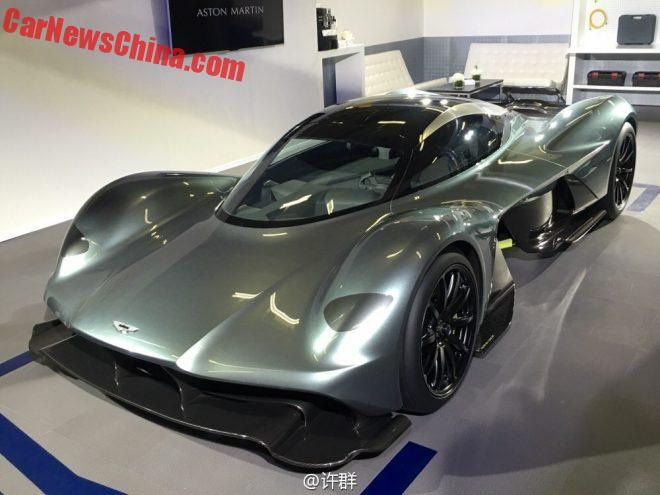 Aston Martin AM-RB 001 Supercar Concept Visits China
